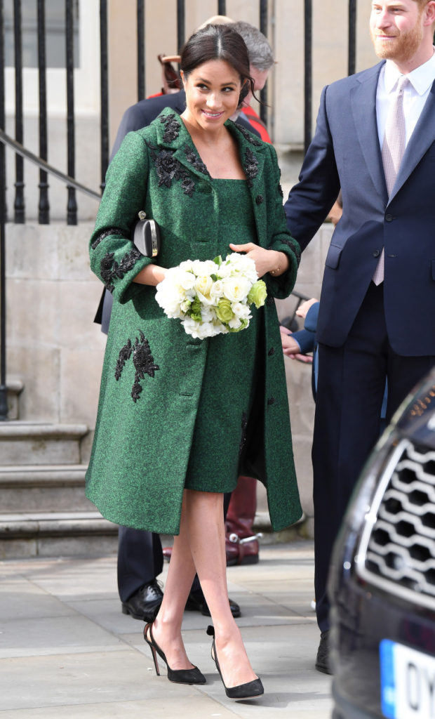 LONDON, ENGLAND - MARCH 11: Meghan, Duchess Of Sussex attends a Commonwealth Day Youth Event at Canada House on March 11, 2019 in London, England. The event will showcase and celebrate the diverse community of young Canadians living in London and around the UK. (Photo by Karwai Tang/WireImage)