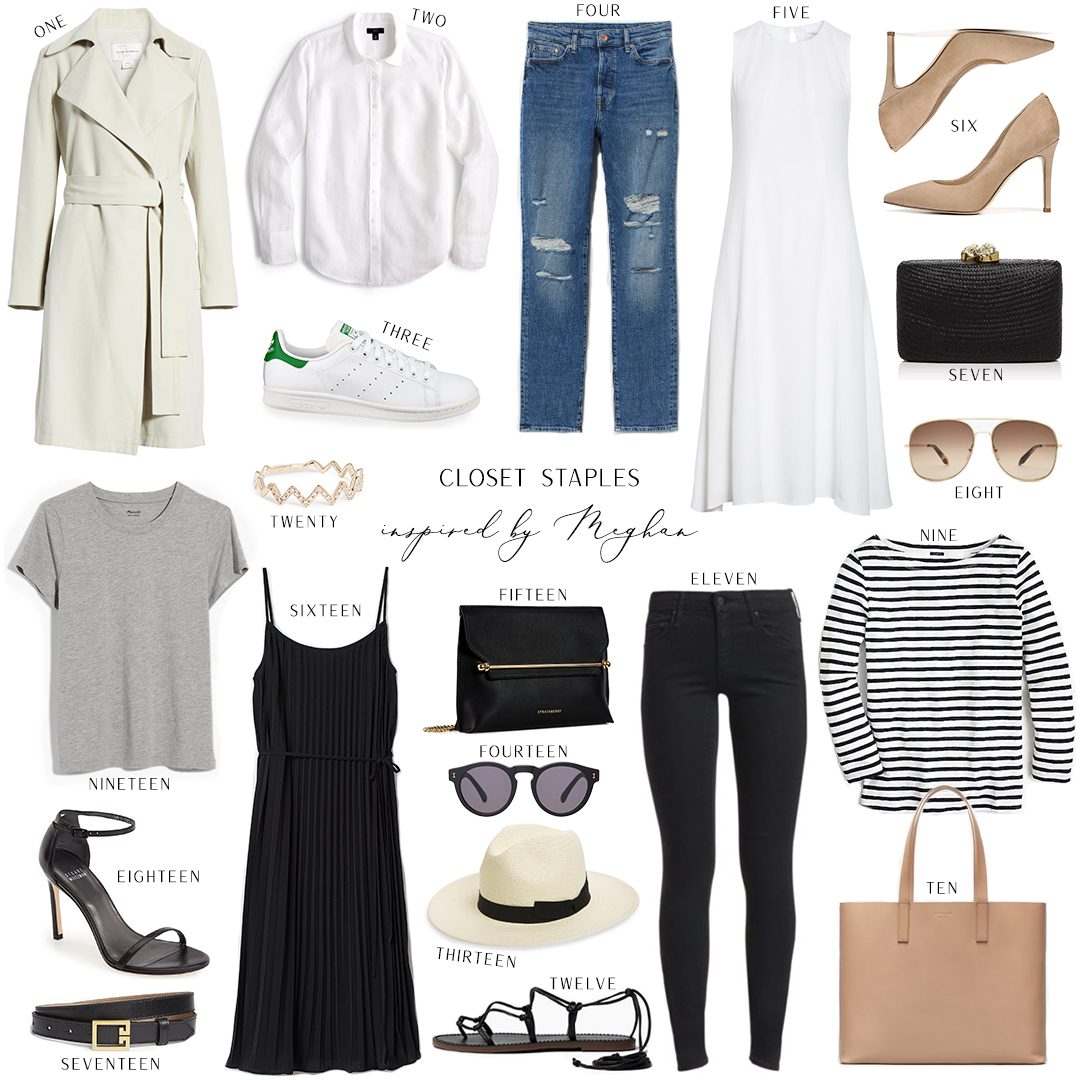 INSPIRED BY MEGHAN // CLOSET STAPLES
