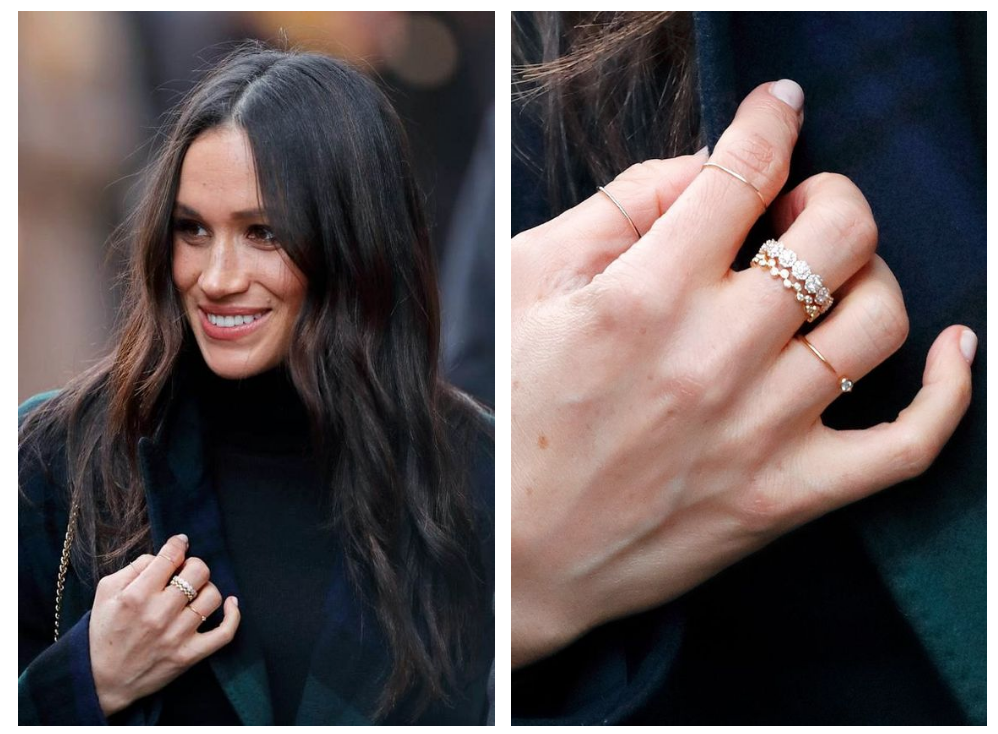 HOW TO CREATE A CHIC RING STACK LIKE MEGHAN