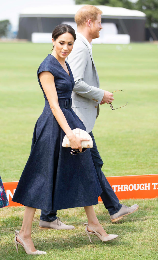 Prince Harry, Meghan Duchess of Sussex Sentebale ISPS Handa Polo Cup, Berkshire Polo Club, UK - 26 Jul 2018