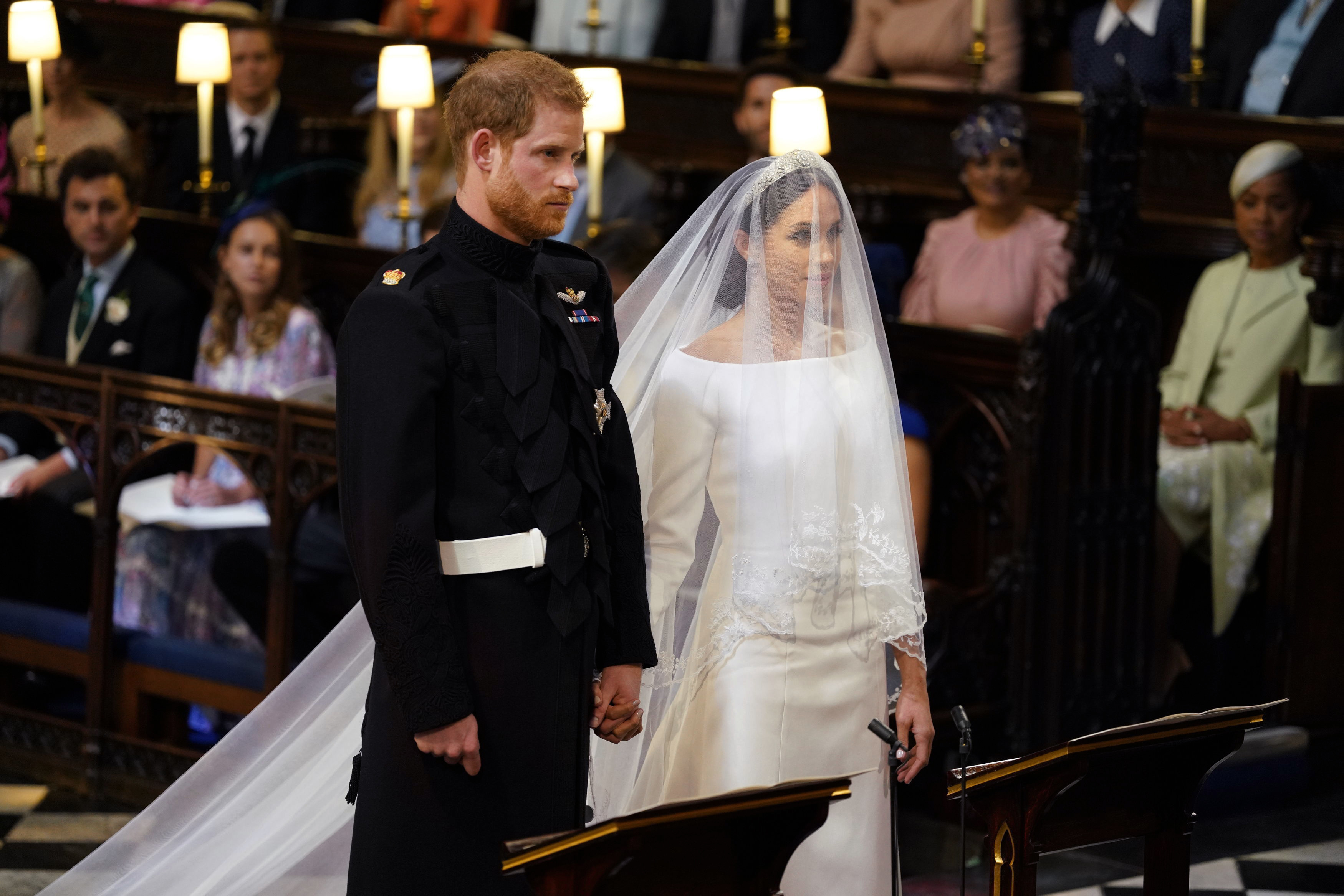HAPPY FIRST WEDDING ANNIVERSARY TO HARRY AND MEGHAN!
