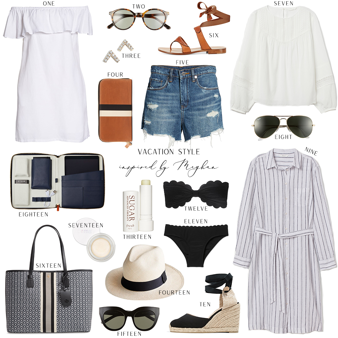 INSPIRED BY MEGHAN // VACATION STYLE