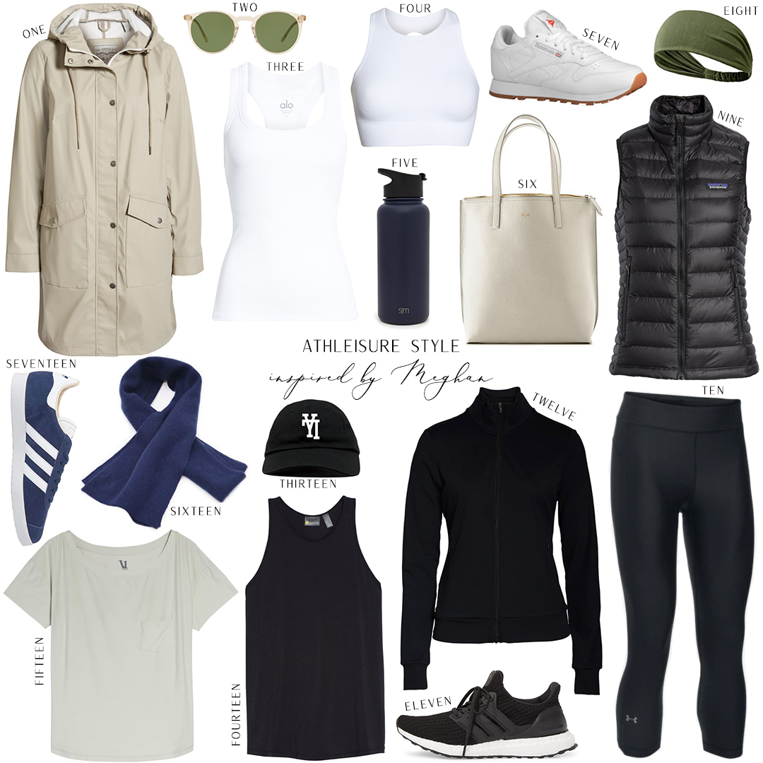 INSPIRED BY MEGHAN MARKLE // ATHLEISURE STYLE