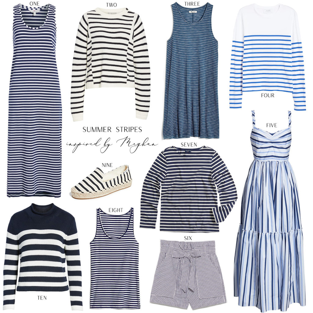 SUMMER STRIPES INSPIRED BY MEGHAN MARKLE