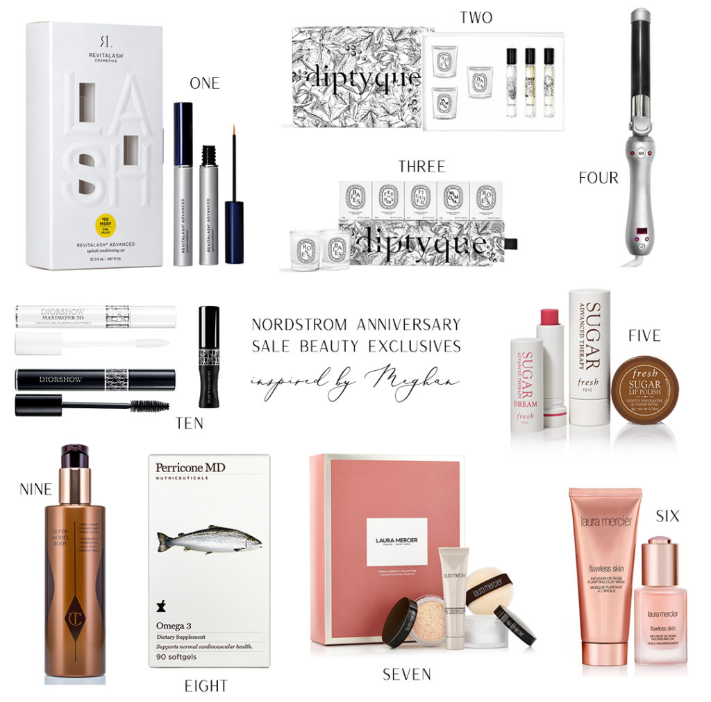 INSPIRED BY MEGHAN MARKLE // NORDSTROM ANNIVERSARY SALE BEAUTY EXCLUSIVES