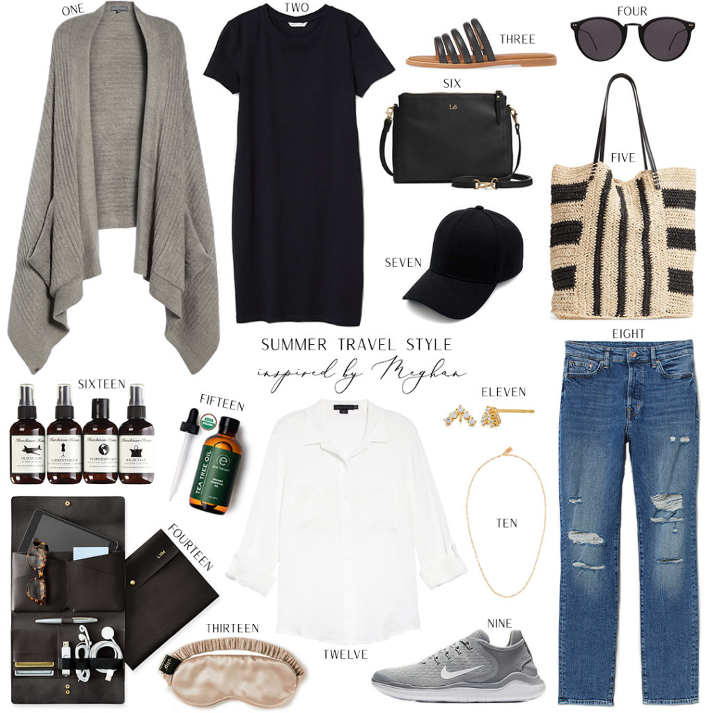 INSPIRED BY MEGHAN MARKLE // SUMMER TRAVEL STYLE