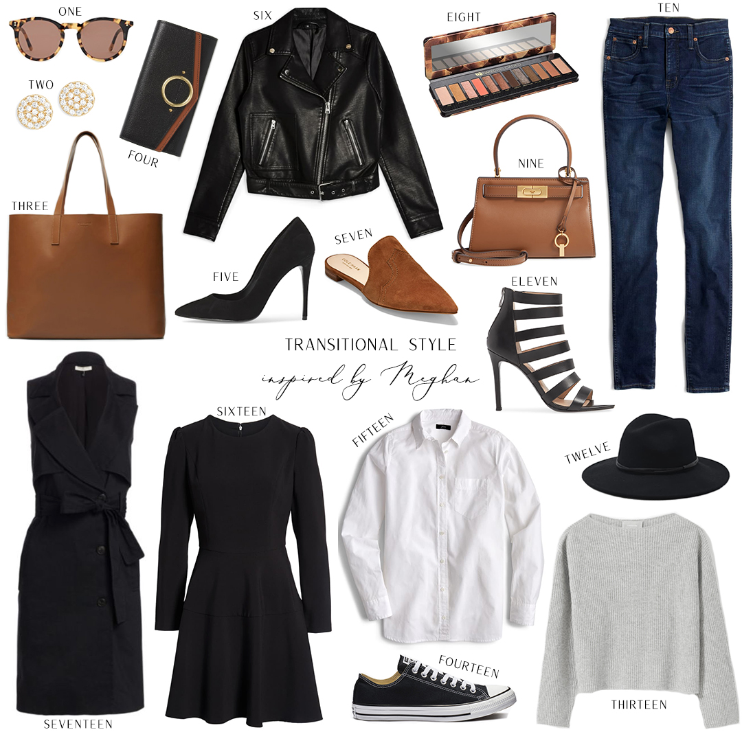 TRANSITIONAL FALL STYLE INSPIRED BY MEGHAN MARKLE