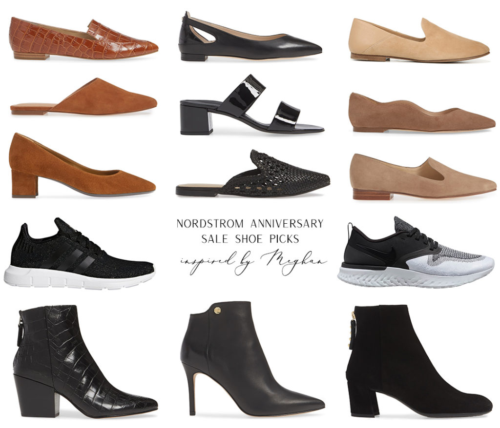 NORDSTROM ANNIVERSARY SALE SHOE PICKS INSPIRED BY MEGHAN MARKLE