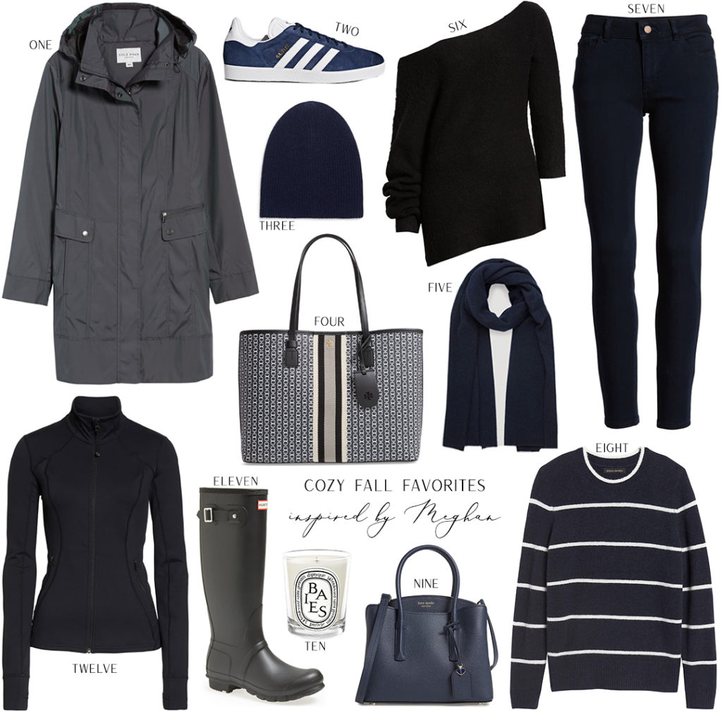 COZY FALL FAVORITES INSPIRED BY MEGHAN MARKLE