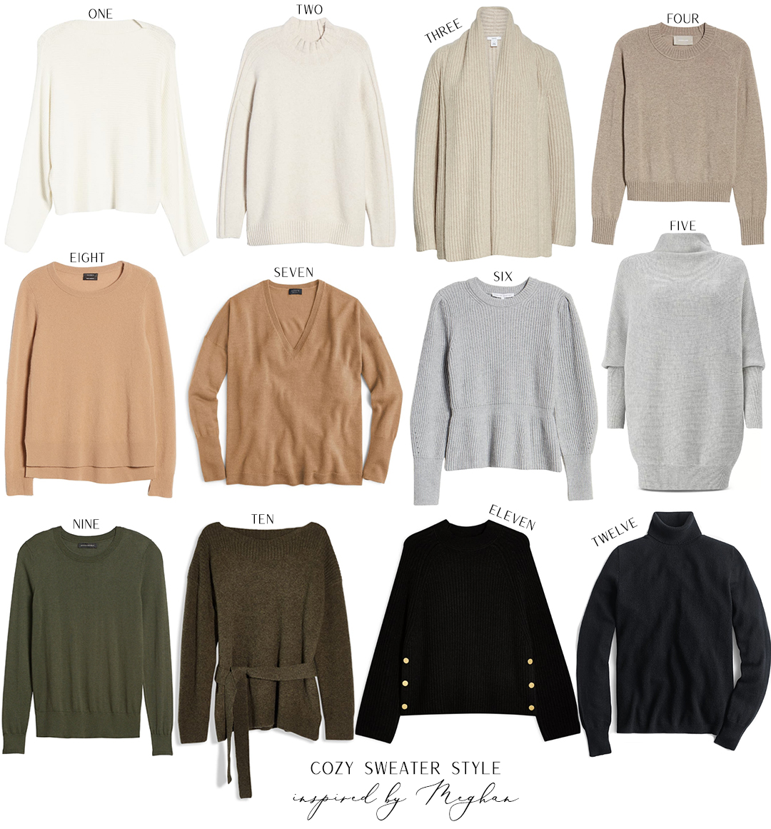FALL SWEATER STYLE INSPIRED BY MEGHAN MARKLE