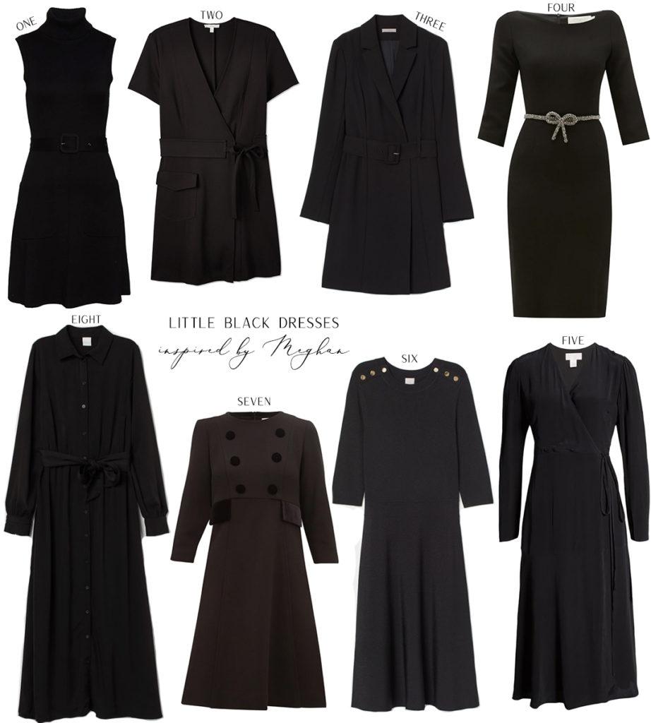 INSPIRED BY MEGHAN MARKLE // LITTLE BLACK DRESSES