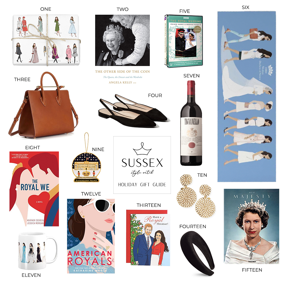 HOLIDAY GIFT GUIDE // FOR THE ROYAL-OBSESSED
