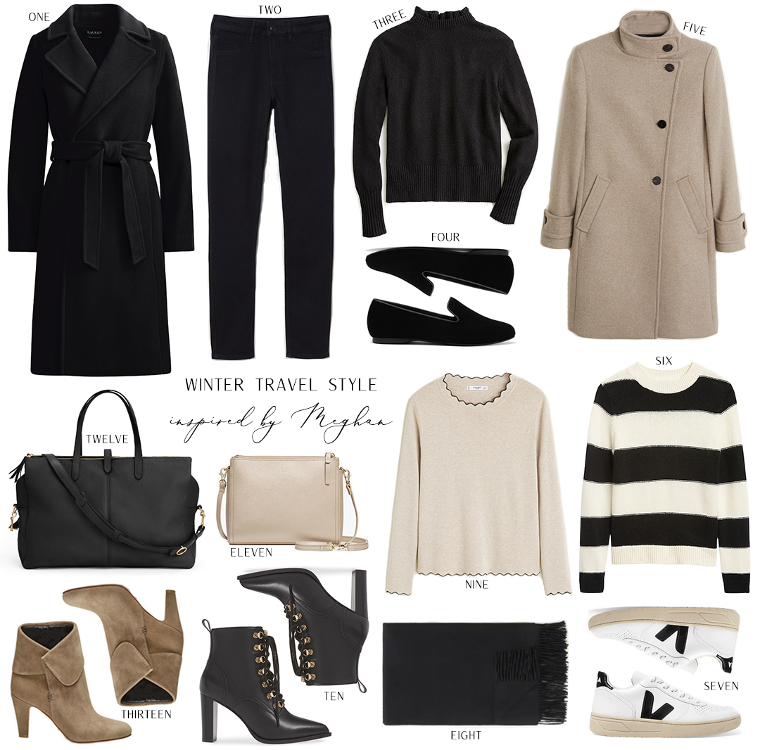WINTER TRAVEL STYLE INSPIRED BY MEGHAN MARKLE