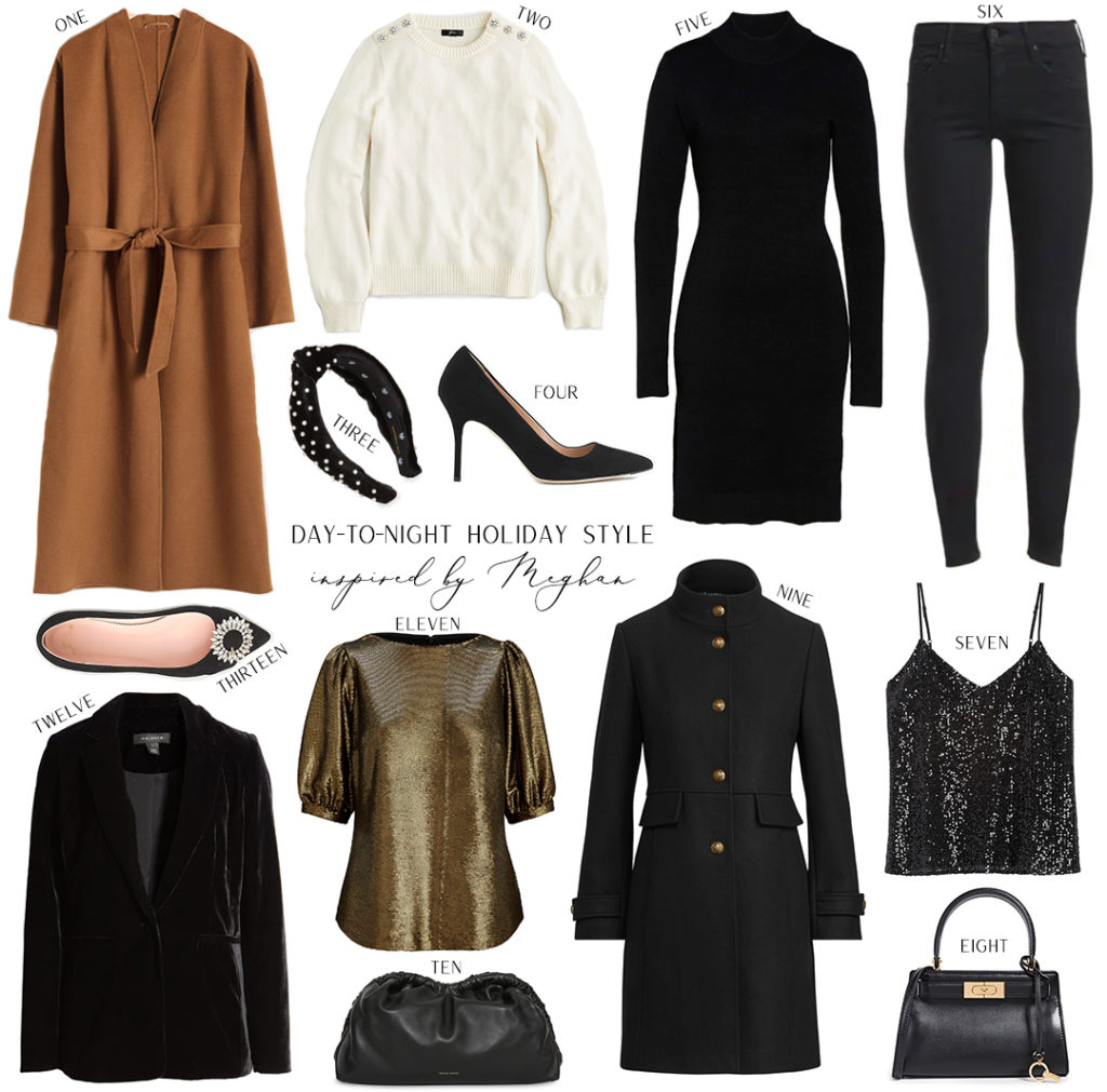 INSPIRED BY MEGHAN // DAY TO NIGHT HOLIDAY STYLE