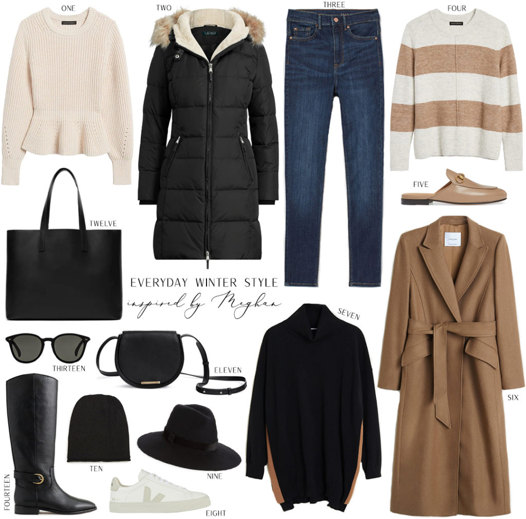 INSPIRED BY MEGHAN MARKLE // EVERYDAY WINTER STYLE