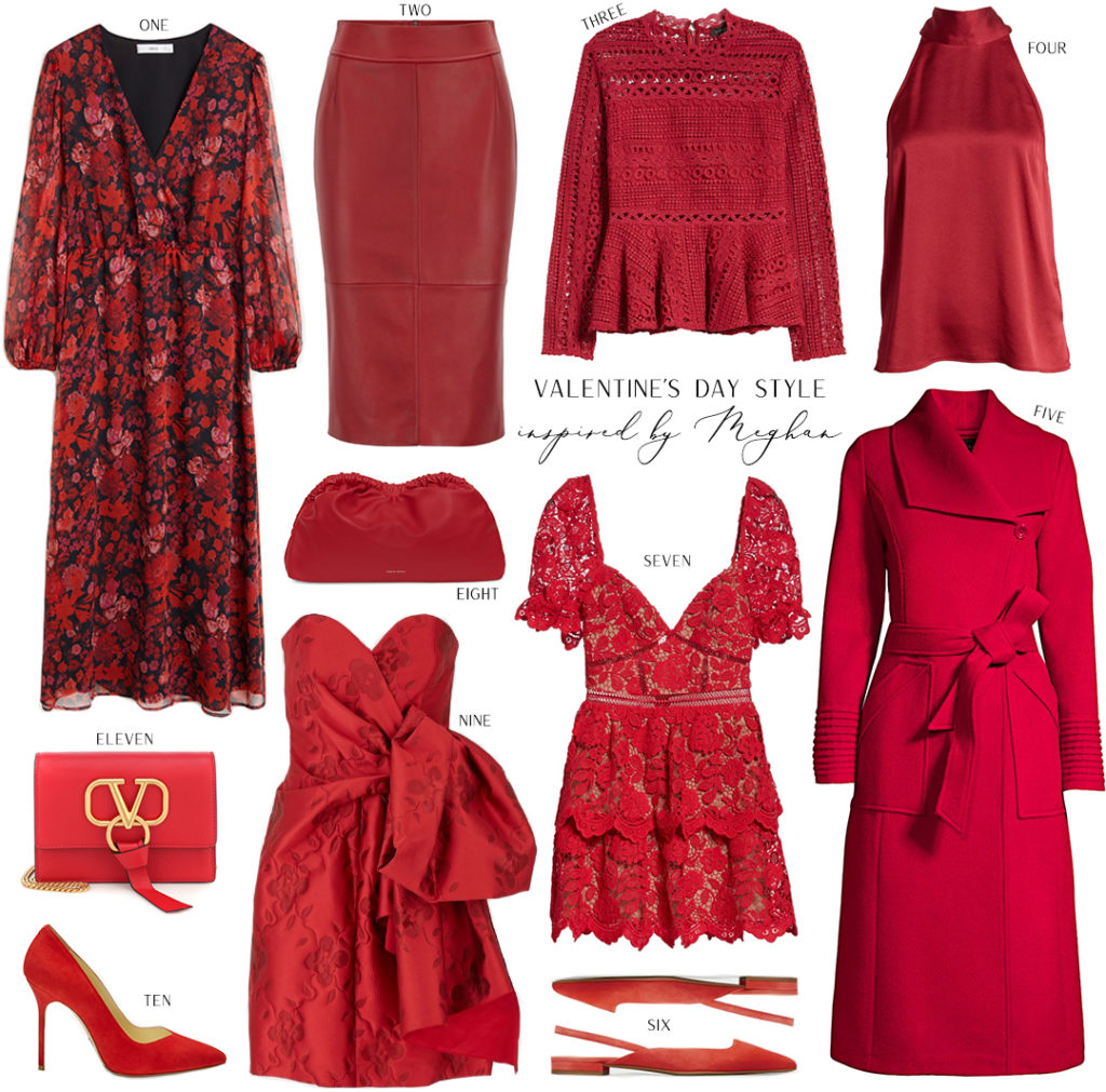 VALENTINE'S DAY STYLE INSPIRED BY MEGHAN MARKLE