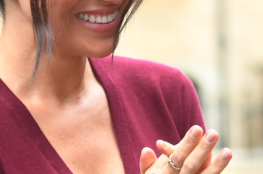 MEGHAN MARKLE IN VARGAS GOTEO JEWELRY