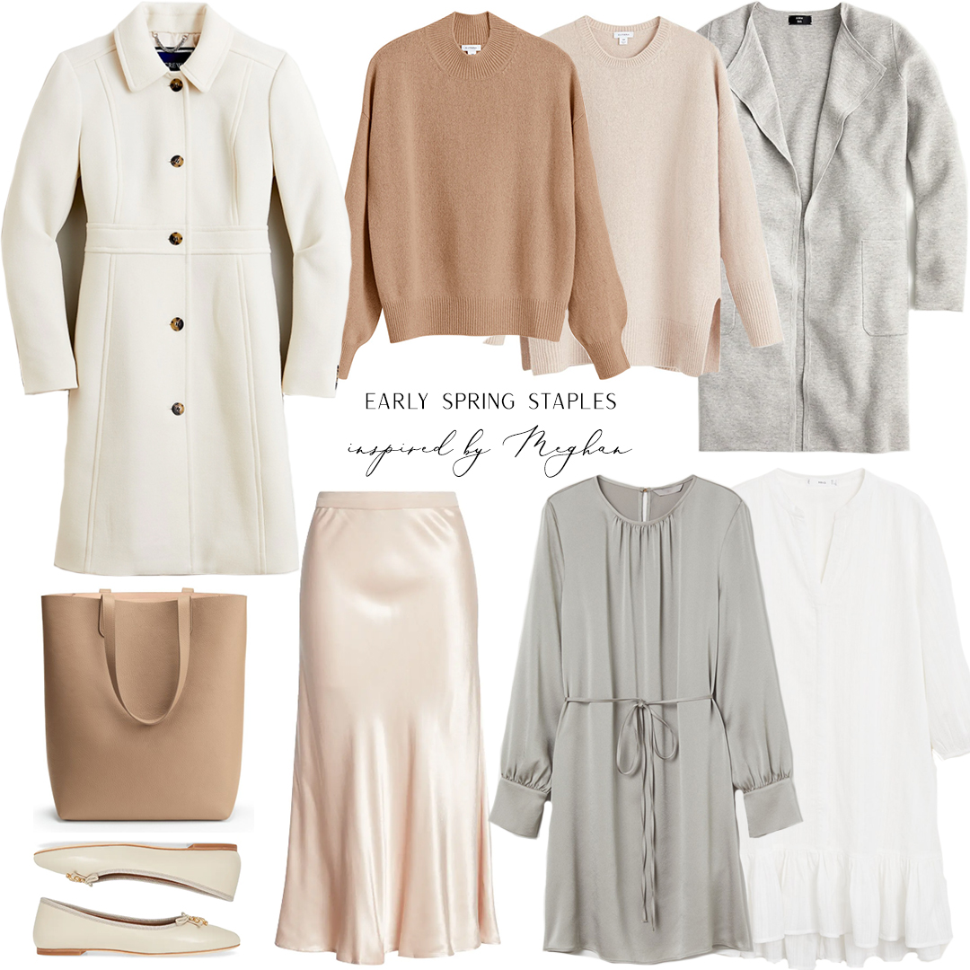 EARLY SPRING STAPLES INSPIRED BY MEGHAN MARKLE