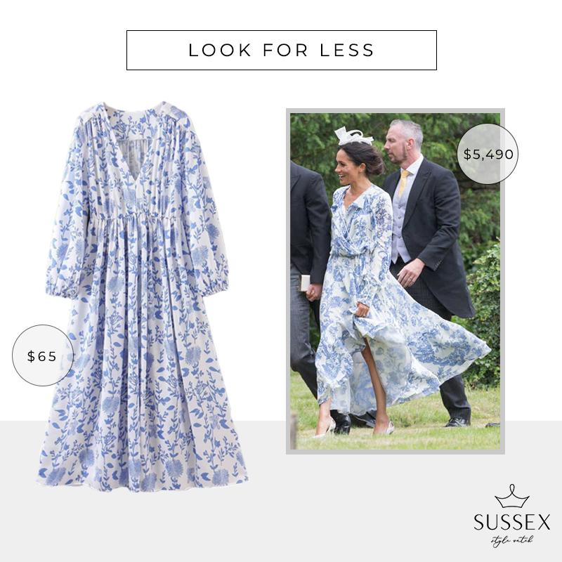 LOOK FOR LESS: MEGHAN MARKLE'S OSCAR DE LA RENTA DRESS