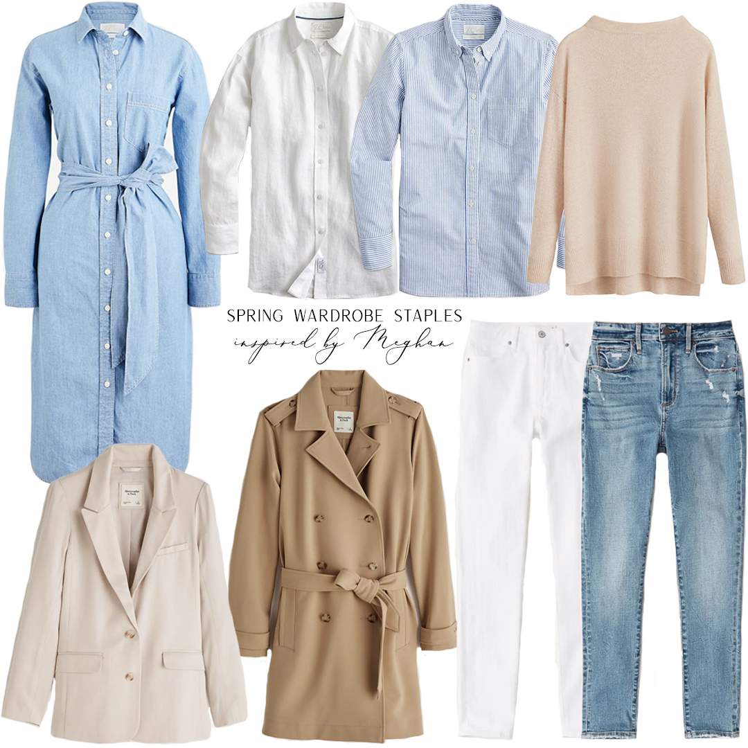 INSPIRED BY MEGHAN // SPRING WARDROBE STAPLES