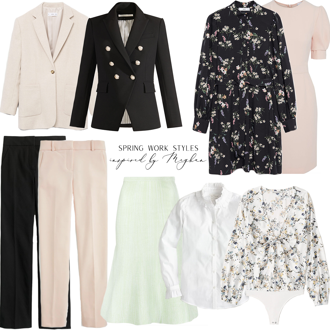 SPRING WORK STYLES INSPIRED BY MEGHAN MARKLE