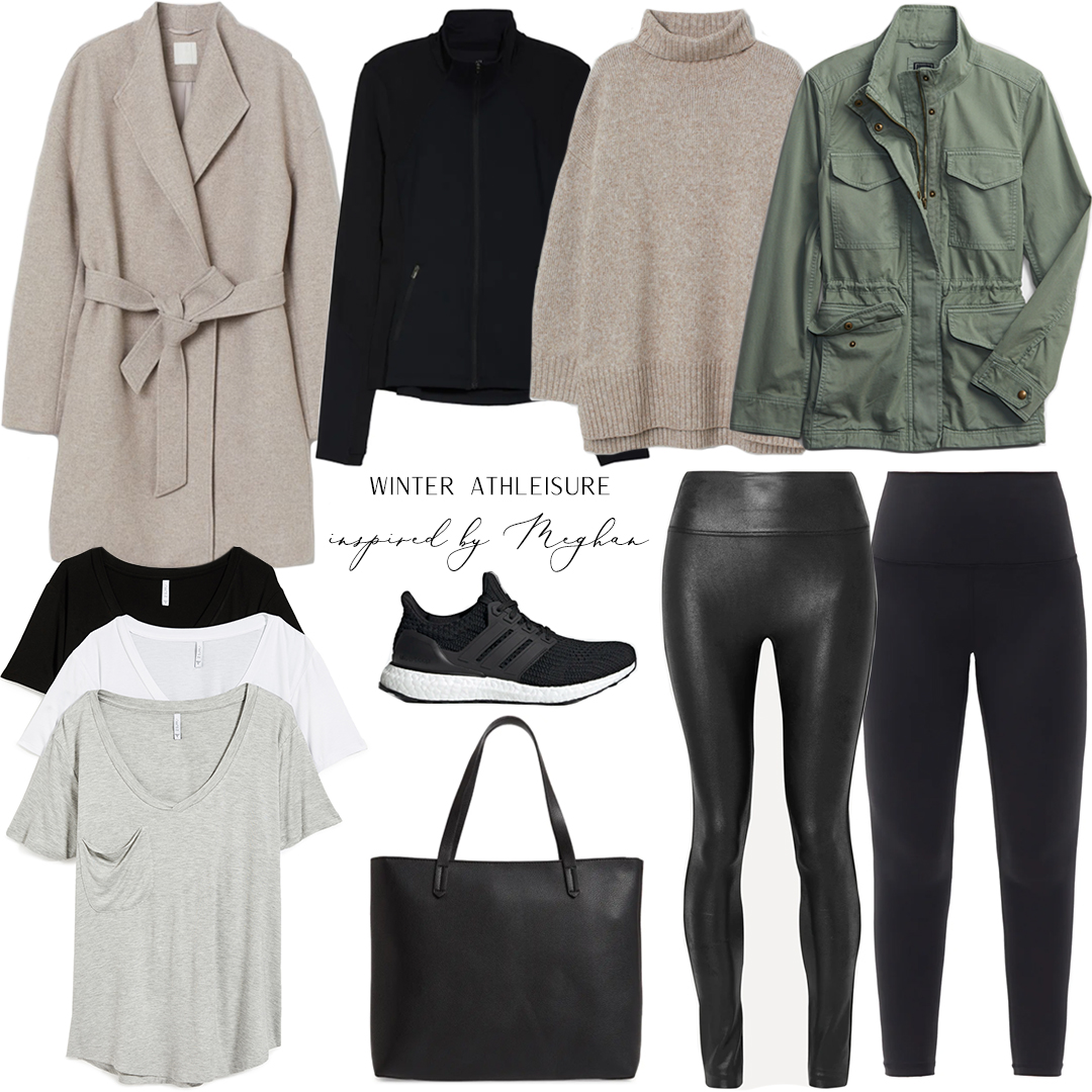 SUSSEX STYLE WATCH // WINTER ATHLEISURE STYLE INSPIRED BY MEGHAN MARKLE