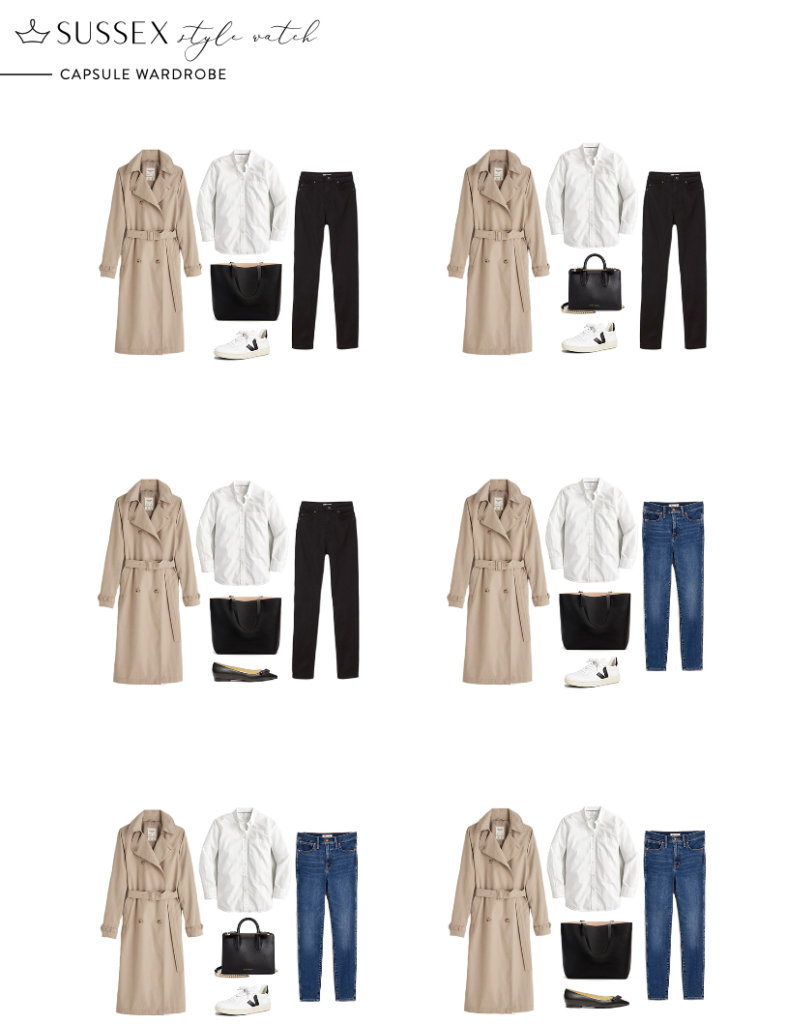 SUSSEX STYLE WATCH CAPSULE WARDROBE // MEGHAN MARKLE INSPIRED OUTFITS