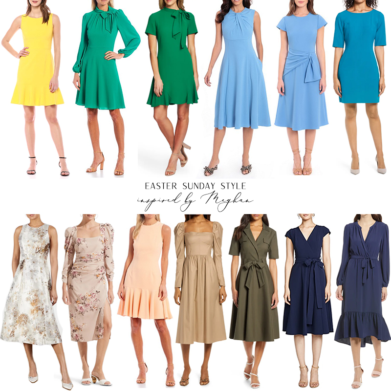 EASTER SUNDAY STYLE INSPIRED BY MEGHAN MARKLE