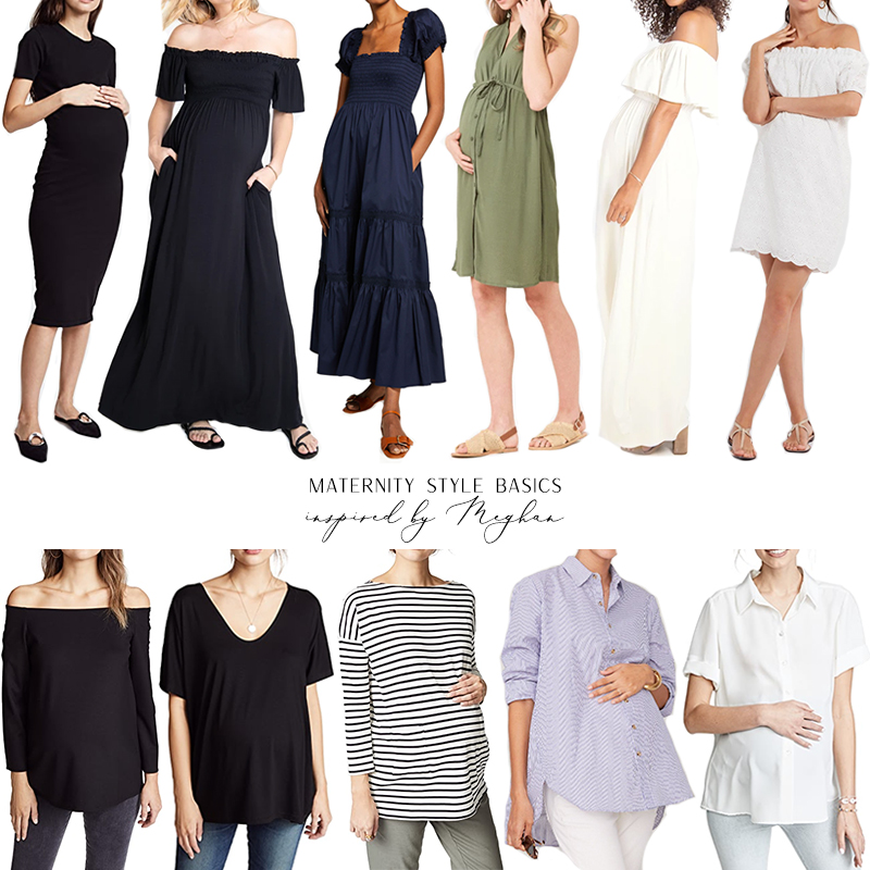 MATERNITY STYLE BASICS INSPIRED BY MEGHAN MARKLE