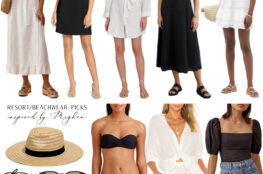 RESORT AND BEACHWEAR PICKS INSPIRED BY MEGHAN MARKLE