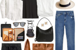SUMMER TRAVEL STYLE INSPIRED BY MEGHAN MARKLE